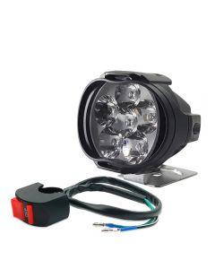Motorrad 8W LED Scheinwerfer E-Bike Roller Scheinwerfer Auto Scheinwerfer Auto Nebel DRL Externe Tagfahrlichter