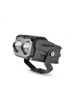 2 stücke DBCL LED Dual Lens Bi Color Projektor Arbeitslicht Scheinwerfer Spot 12000Lm Hi/Lo Weiß Gelb Nebel DRLs Für Jeep
