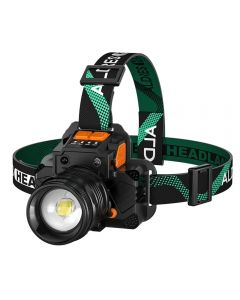 T8/L9 Scheinwerfersensor Scheinwerfer wiederaufladbar ultrahelles, fokussierendes weißes Licht mit großer Reichweite
