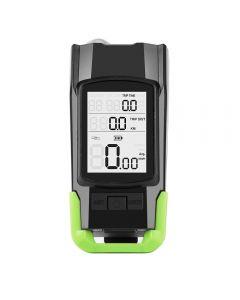 4 Modi USB Bike Light Horn Taschenlampe Tachometer LED Bike Front Light
