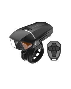 350 Lumen Fahrrad Taschenlampe Blinker USB Aufladen LED Licht Fahrrad Horn Mountainbike Scheinwerfer