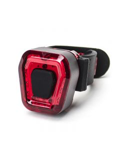 Bicycle Tail Light Kit Portable Lightweight Adjustable USB Charging IPX4 Waterproof Safety Light
