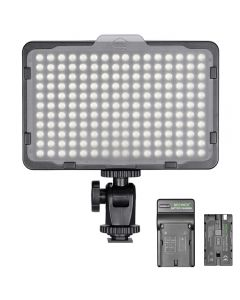 Neewer Photo Studio 176 LED 5600K ultrahell dimmbar für Canon Nikon Sony & andere DSLR