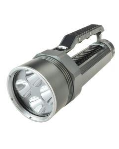Lustefire Dv400 4 * Cree Xm-L2 Max 4000 Lumen Dimmen-Led-Tauch-Taschenlampe (2 * 26650, Nicht Inklusive) -Gray + Schwarz