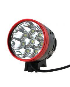 Roter Kopf 8T6 Led-Bike-Licht 8Xcree Xml-T6 Led 3-Modus 8000 Lumen-Bike-Licht Mit 8,4V 4X18650 Akku