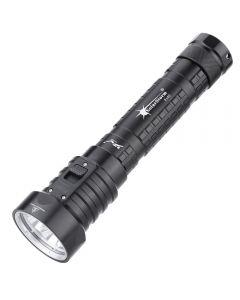 Solarstorm Dx4S Xm-L U2 3000-Lumen Led Tauchen Taschenlampe Fackel