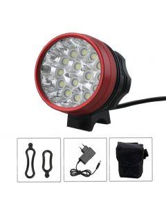 15T6 Bike Light Kit 15 X Xm-L T6 Led Fahrradlicht Radfahren Fahrradkopf Lampe Scheinwerfer 23000 Lm