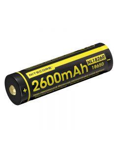 Nitecore Nl1826R 3.6V 18650 Batterie Hochleistungs-Micro-Usb-Wiederaufladbare Li-Ion-Batterie