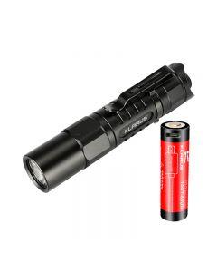 Klarus Xt1A 2018 Cree Xp-L Hd V6 Led 1000 Lumen Aa Taschenlampe Dual-Switch Edc Tactical Taschenlampe
