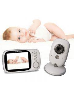 Vb603 Video Baby Monitor 2.4G Drahtlos Mit 3,2 Cm Lcd 2 Way Audio Talk Nachtsichtüberwachungsüberwachungskameras Babysitter