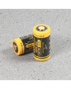 Skilhunt 16340 700Mah 3.6V Geschützter Batterie Bl-107 3.6V (1 Stück)