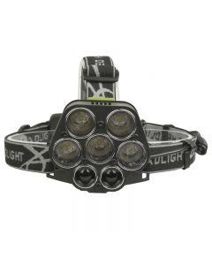7 Led-Scheinwerfer 25000Lm 5 * T6 + 2 * Xpe-Scheinwerfer Usb-Ladet-Scheinwerfer Tragbares Angellicht