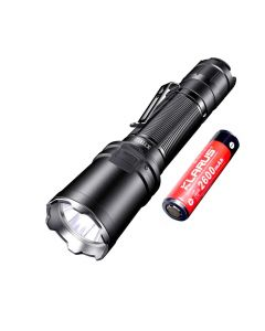 Klarus XT11R 1300-Lumen Cree SST-40 LED wiederaufladbare 18650 Tac Taschenlampe