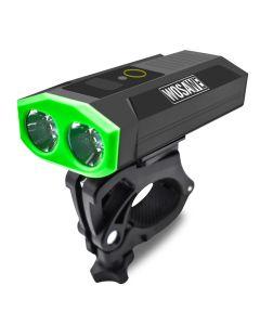 WOSAWE Fahrradlicht starkes Licht Doppelkopf USB eingebaute Batterie Mobile Power Typ Autolicht
