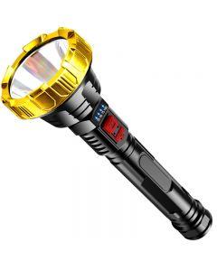 T6 LED Hochleistungs-Taschenlampe wasserdichte Camping-Handleuchte mit großer Reichweite USB wiederaufladbare USB-Taschenlampe