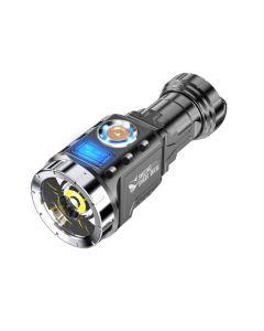 Mini Taschenlampe Outdoor tragbare wiederaufladbare Taschenlampe Batterie Aluminiumlegierung Angellaterne
