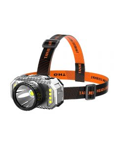LED-Stirnlampe Starkes Licht Superheller wiederaufladbarer Langstrecken-Nachtfischerscheinwerfer