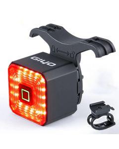 GIYO Dual Bracket Smart Fahrradlicht Rücklicht Fahrradzubehör Bremslicht Bremsleuchte LED Sicherheitslaterne