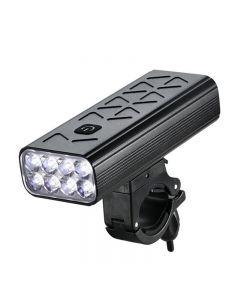 10000mAh Taschenlampe Für Fahrrad Frontlicht Fahrrad 8T6 LED USB Wiederaufladbares Display MTB Radfahren Scheinwerfer