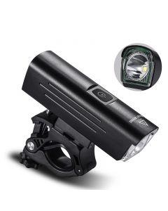 WEST BIKING1300 Lumen Fahrradlicht Nachtfahrrad Rotierender Ständer 4500mAh Wiederaufladbare wasserdichte Taschenlampe