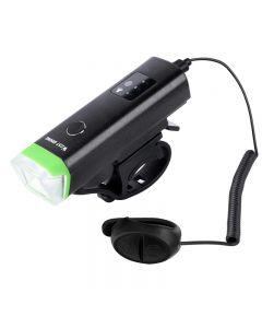 WEST BIKING Fahrradvorderlicht 1800mAh USB wiederaufladbare LED Fahrradlicht Wasserdichter Fahrradscheinwerfer
