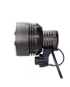 ON THE ROAD MX5 PRO Outdoor-Glare-Scheinwerfer tragbarer ultralanger P70-Fahrradscheinwerfer