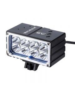 VICMAX A8 Fahrradlicht XM-L2 (u2) LED 7200LM 8xT6 LED Licht Fahrradlicht Vorderlicht 18650mAh Akku