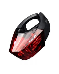 EasyDo Fahrrad LED Taschenlampe STVZO Alarm Hinten Fahrrad Rücklicht MTB Rennrad Lampe