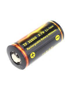 Qualität Trustfire Tf 32650 3.7V 6000Mah Geschützte Li-Ion-Batterie- (1 Stück)