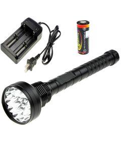 Oem Trustfire 18T6 18000-Lumen Cree Xm-L T6 5-Modi-Led-Taschenlampe + 4 * Trustfire Tf 26650 Batterie + Ladegerät