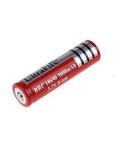 Ultrafire Brc Red 3000Mah 3.7V Li-Ion-Akku (1-Einheit)